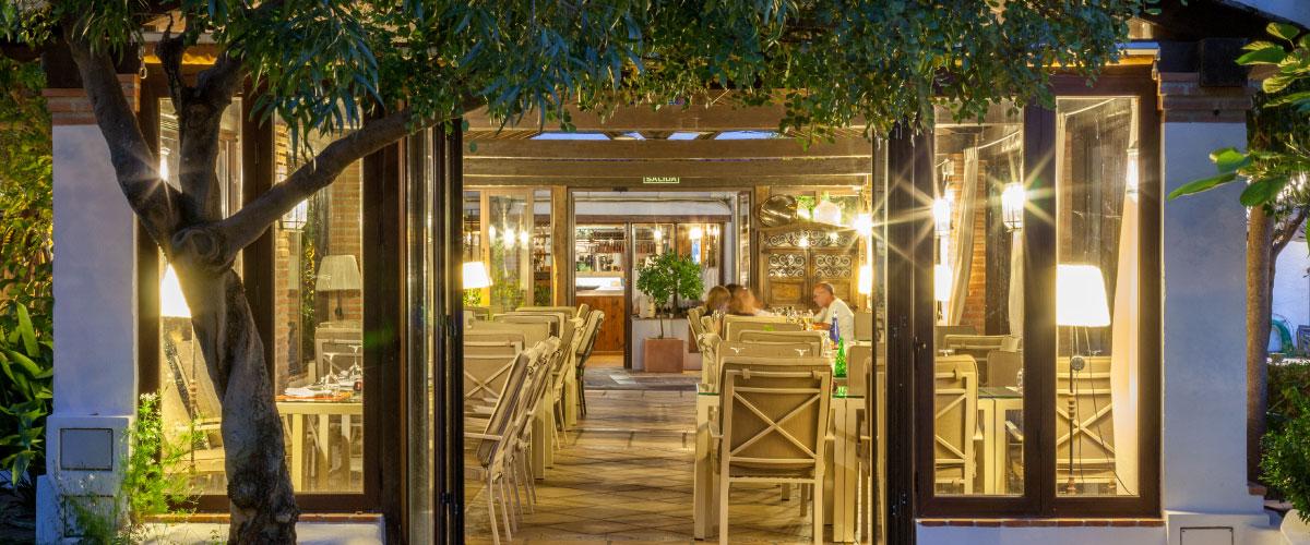 Panoramica de restaurante